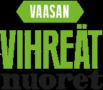 Vaasan vihreiden nuorten logo